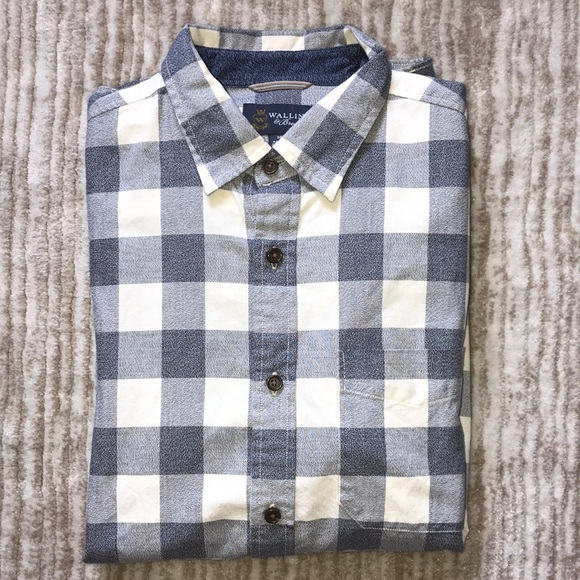 8240e589c Wallin & Bros Shirts | Wallin Bros Button Up Casual Shirt | Poshmark